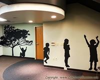 Picture of Girl 18 (Children Silhouette Decals)