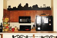 Picture of Quebec, Canada City Skyline (Cityscape Decal)